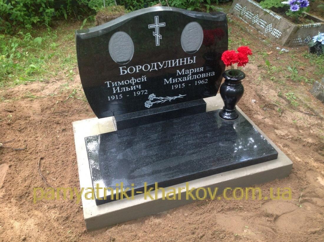 Двойной памятник на могилу цена харьков Эконом памятник Купола Луза